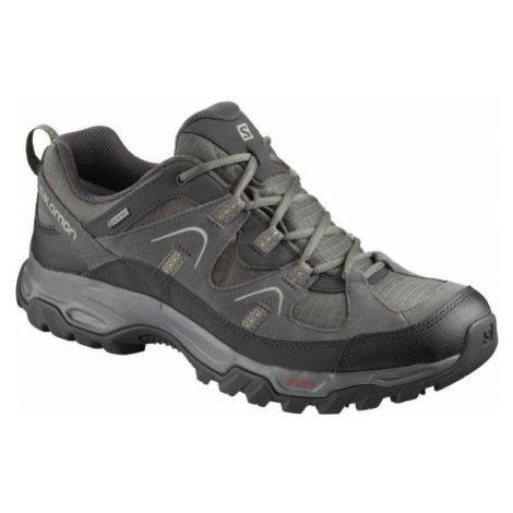 Salomon FORTALEZA GTX šedá - Pánská hikingová obuv