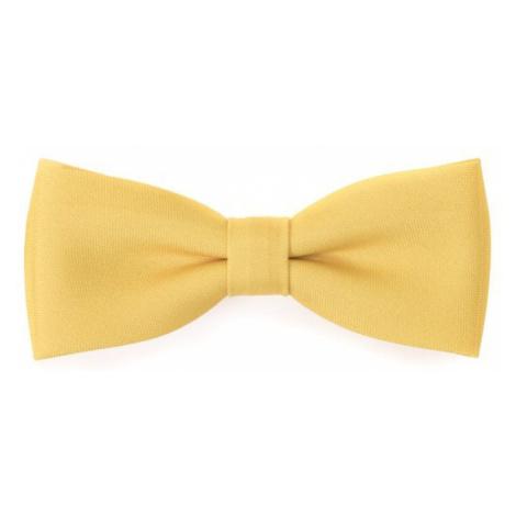 Žlutý motýlek s kapesníčkem Avantgard