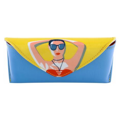 Santoro barevné pevné pouzdro na brýle First Class Lounge Life´s A Beach Santoro London