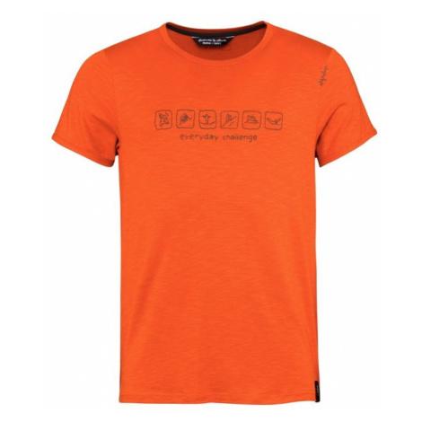 Chillaz Everyday Challenge triko KR pánské, oranžová
