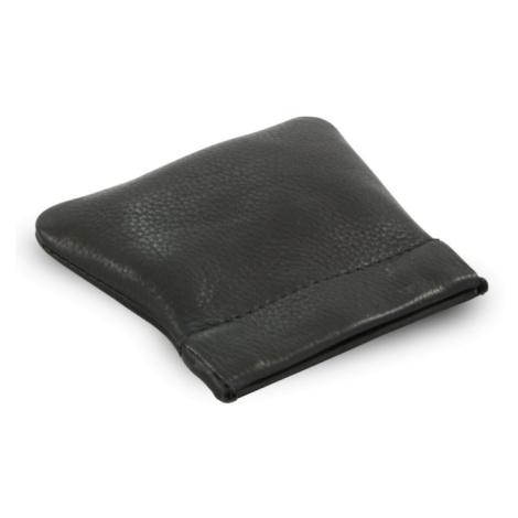 Černá kožená kapsa na mince Emery Arwel