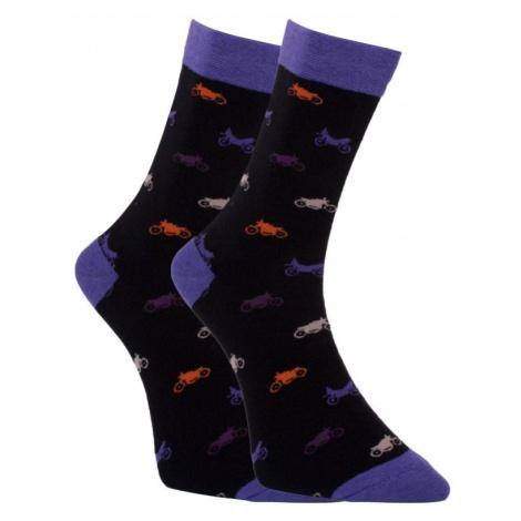 Veselé ponožky Dots Socks motorky (DTS-SX-453-C) M