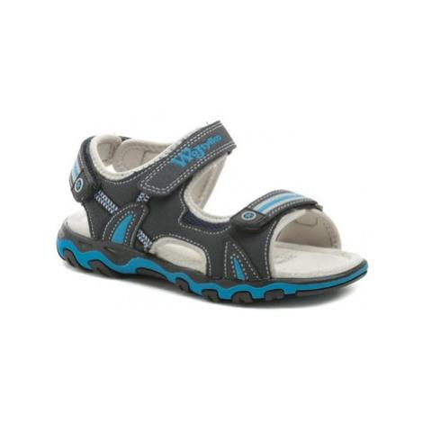 Wojtylko 5S2820 modré chlapecké sandálky Modrá