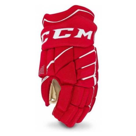 CCM JETSPEED 370 JR červená - Dětské hokejové rukavice