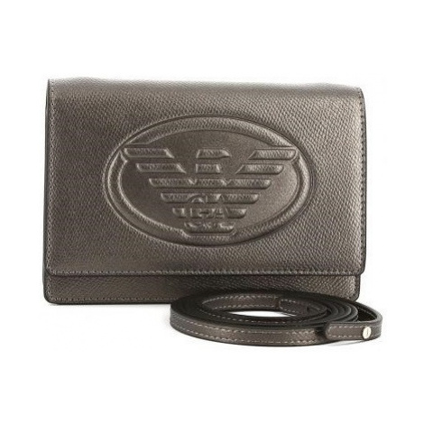 Emporio Armani dámská kabelka stříbrná