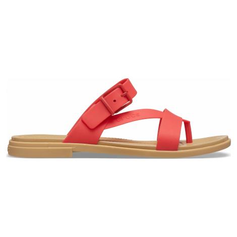 Dámské sandále Crocs TULUM TOE Sandal červená