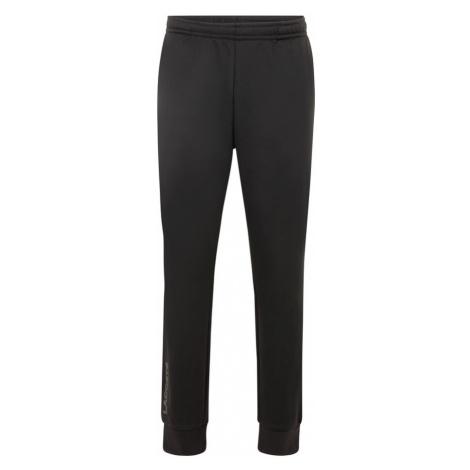 Lacoste Sport Sportovní kalhoty 'MOLLETON' černá / bílá