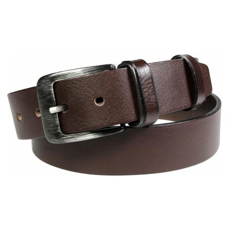 Pánský kožený opasek Penny Belts Alfonso hnědý