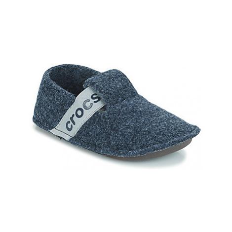 Crocs CLASSIC SLIPPER K Modrá