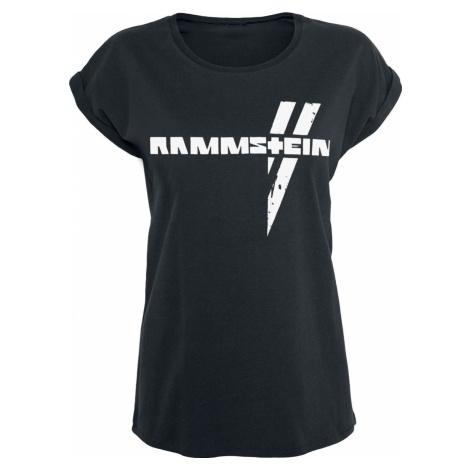 Rammstein Weiße Balken Dámské tričko černá