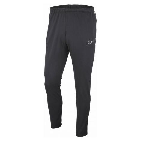 Dětské tréninkové kalhoty Nike DRY ACADEMY19 Tmavě šedá / Bílá