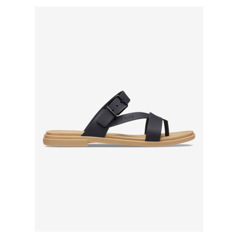 Tulum Toe Post Pantofle Crocs Černá