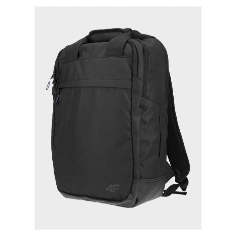 4F - Městský batoh s kapsou na laptop - černý