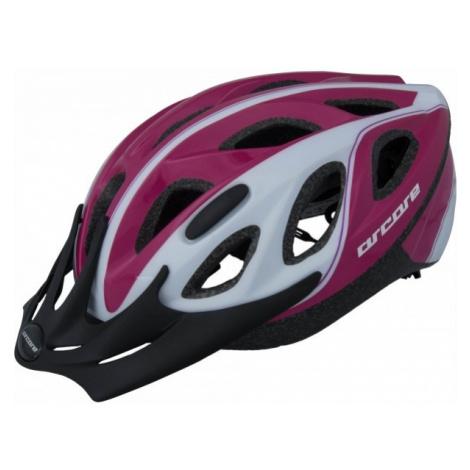 Arcore ENZYME růžová - Cyklistická přilba