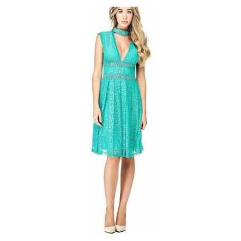Guess dámské zelené šaty Katherine