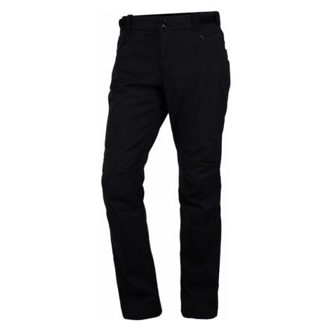 NORTHFINDER ALDORA Pánské softshellové kalhoty NO-3437OR270 černá