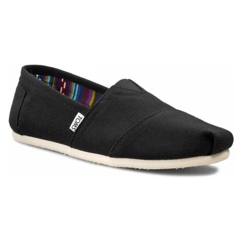 Polobotky TOMS - Classic 10000862 Black