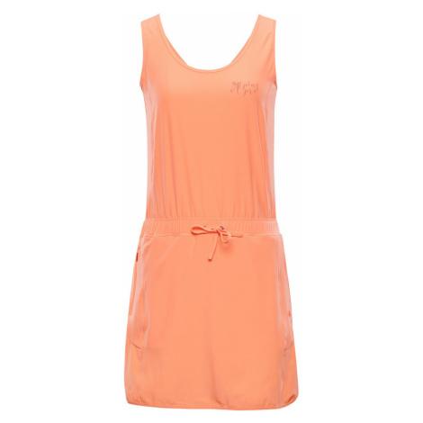 ALPINE PRO PATA Dámské šaty LSKN185342 sweet coral