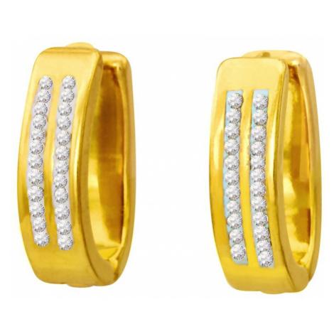 Linda's Jewelry Náušnice Shiny Kruhy chirurgická ocel IN033