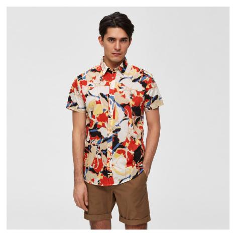Barevná vzorovaná košile Slim Tokyo Selected