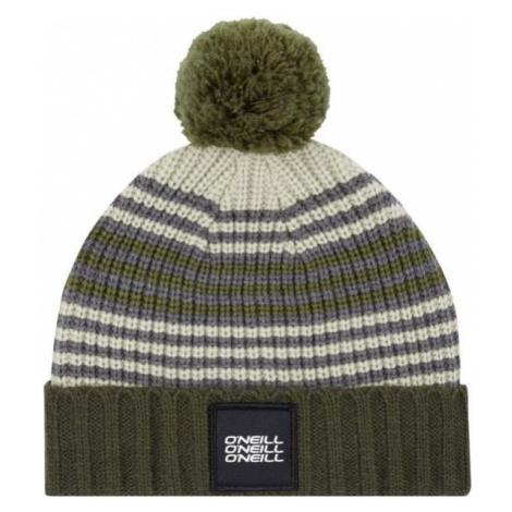 O'Neill BB LINES BEANIE zelená 0 - Chlapecká zimní čepice