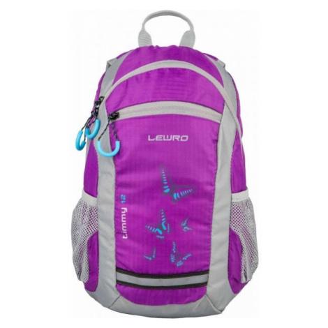 Lewro TIMMY 12 fialová - Dětský batoh