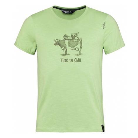 Chillaz Cow triko KR pánské, zelená