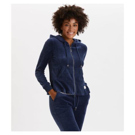 Mikina Odd Molly Hygge Jacket - Modrá