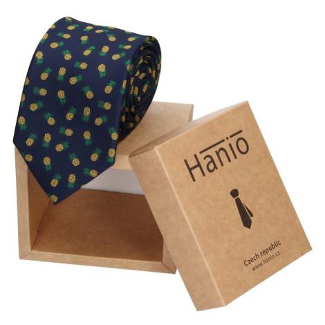 Pánská kravata Hanio Justin - modrá