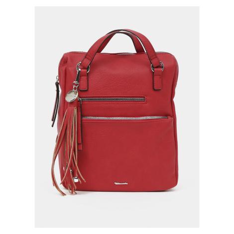 Tamaris 2v1 červený batoh/kabelka