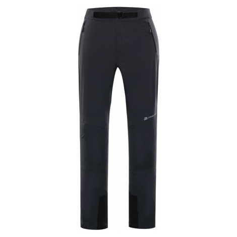 ALPINE PRO ROHAN Pánské softshellové kalhoty MPAP374779 tmavě šedá