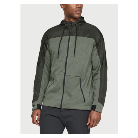 Mikina Under Armour Unstoppable Coldgear Swacket Zelená