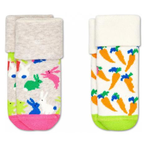 2-Pack Kids Bunny Terry Socks Happy Socks