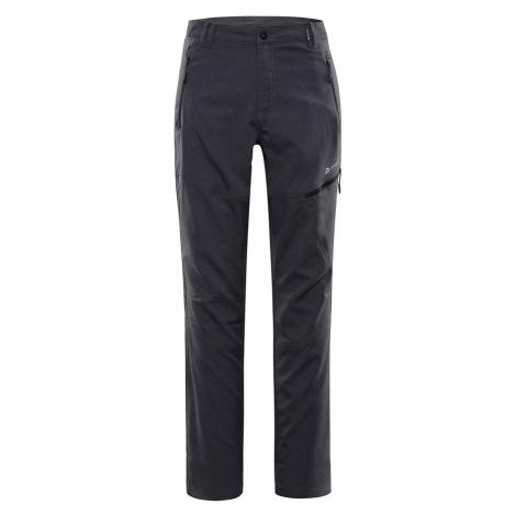 ALPINE PRO CARB 4 Pánské softshellové kalhoty MPAR379990 černá