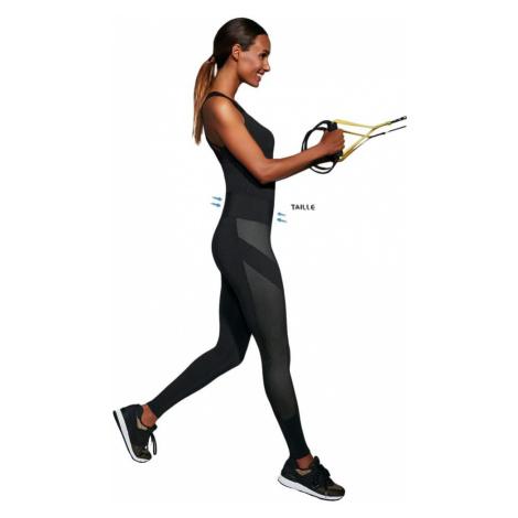 BasBleu Tvarující fitness legíny Misty černé Bas Bleu