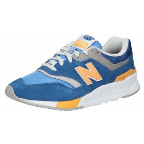 New balance Tenisky nebeská modř / světlemodrá / oranžová / šedá / bílá