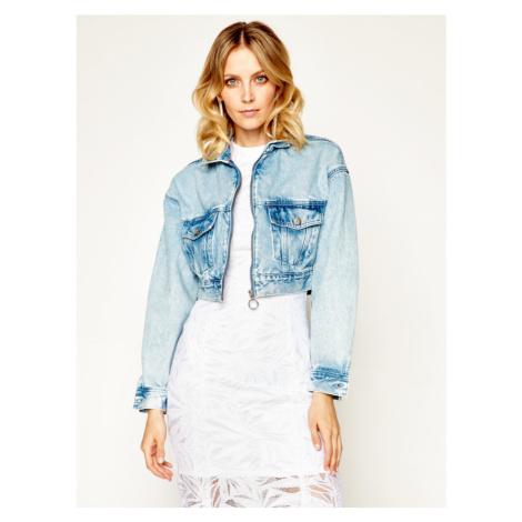 Pepe Jeans dámská modrá džínová bunda Rogue