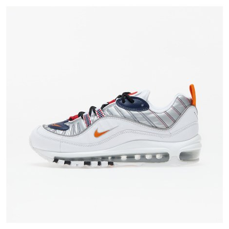 Nike W Air Max 98 Premium White/ Starfish-Wolf Grey-Gym Red