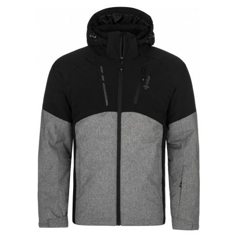 KILPI Pánská lyžařská bunda TAUREN-M NM0035KIDGY Tmavě šedá