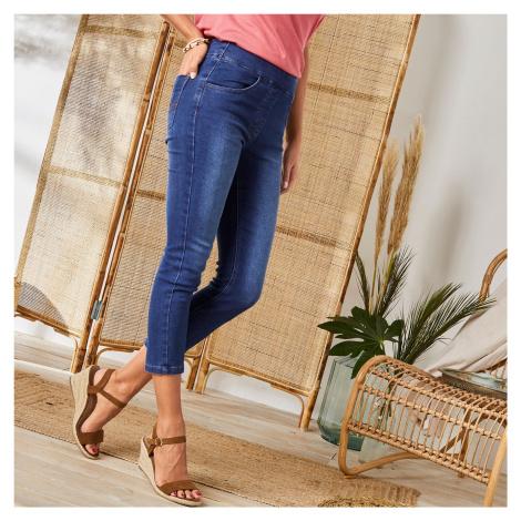Blancheporte 3/4 džínové kalhoty denim