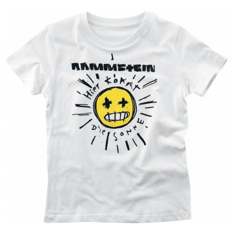 Rammstein Sonne detské tricko bílá