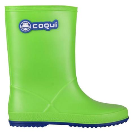 Coqui RAINY zelená - Dětské holínky
