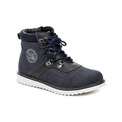 Cortina.be Slobby 46-0735-D1 modré dětské boty Modrá