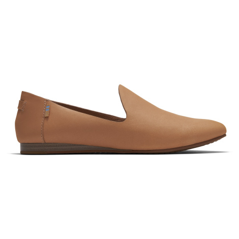 HNY VEG TAN LEATHER WM DARCY FLAT Toms