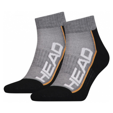 Head PERFORMANCE QUARTER 2PACK černá - Unisexové ponožky