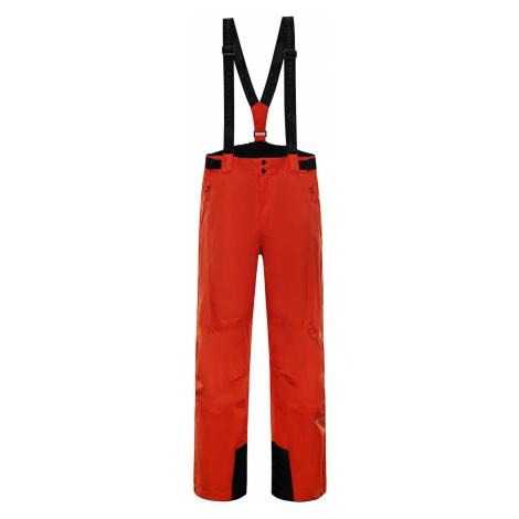 Pánské lyžařské kalhoty Alpine Pro SANGO 7 - oranžová