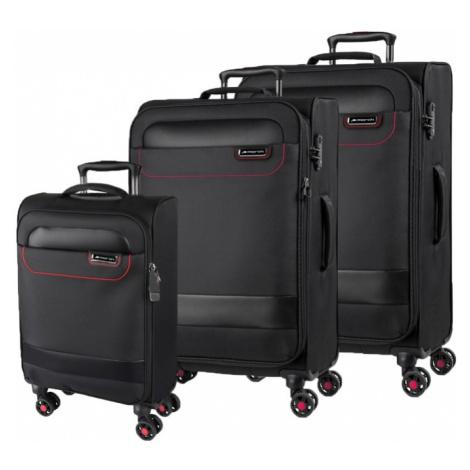 March Sada cestovních kufrů Tourer S + M + L, černá