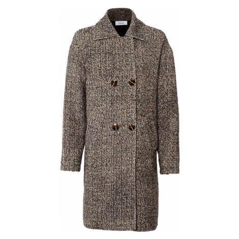 HEINE Kabát Heine v hnědé barvě