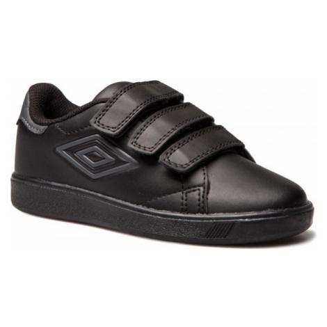 Umbro MEDWAY 3 VELCRO JNR černá 1Y - Dětská volnočasová obuv
