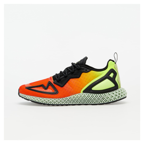 adidas ZX 2K 4D Solar Yellow/ Hi-Res Red/ Core Black